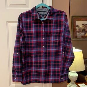 Women's Tommy Hilfiger Plaid Shirt Size XL